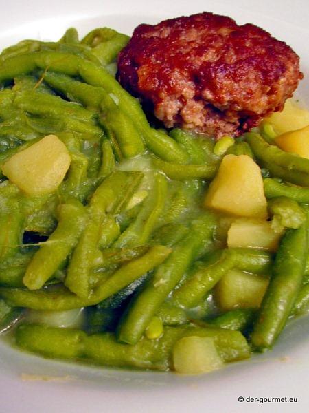Grüner Bohneneintopf