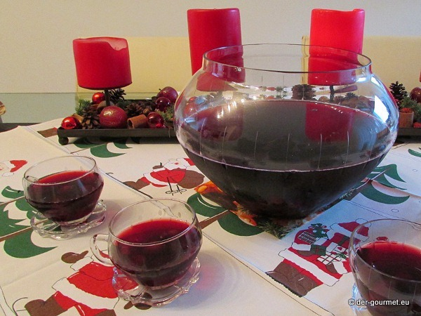 Weihnachtsbowle