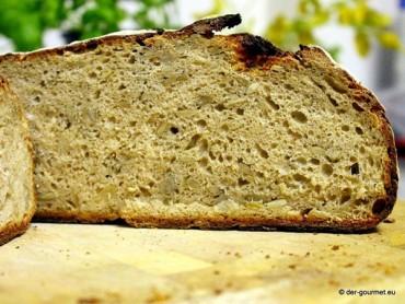 Sonnenblumen Kefir Sauerteig Brot