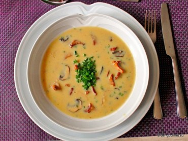 Waldpilze Creme Suppe
