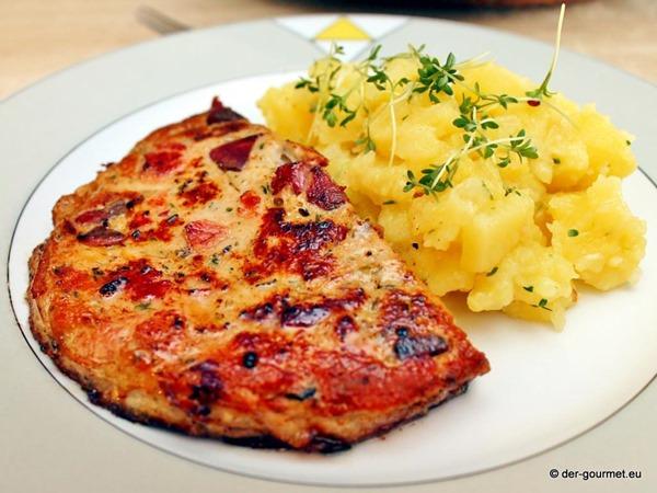 Milzwurst mit bayrischem Kartoffelsalat